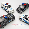 1:32 Alloy Pull Back Diecast Police Car Model KIDAMI Range Cover Car Toys with Sound Light Collection Gift Toy For Boys Kids