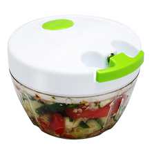 Multi Spiral Vegetable Choppers Hand Manual Food Fruit and Vegetable Chopper Dicer Meat Fruit Cutter Mixer Salad Crusher