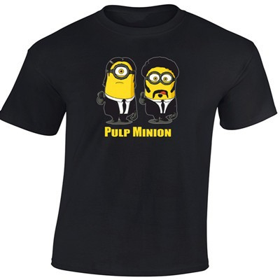 Despicable Me Minions Pulp Fiction Parody T-Shirt