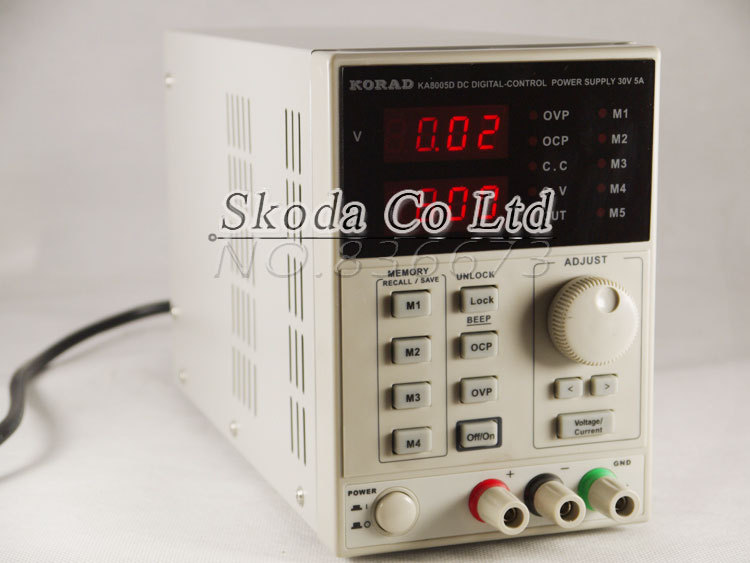 KORAD KA6005D High Precision The Lab programmable Adjustable Digital Regulated power supply DC Power Supply 60V/5A цена