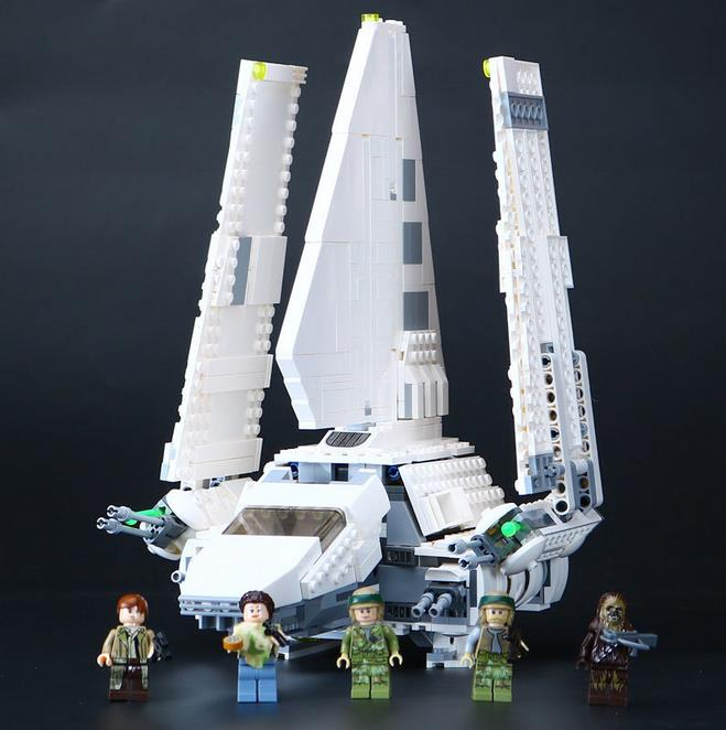 Lepin 05057 937Pcs New Star War Series The Imperial Shuttle Set Model Building Kit Blocks Bricks Toy Compatible Gift With 75094 lepin 22001 pirates series the imperial war ship model building kits blocks bricks toys gifts for kids 1717pcs compatible 10210