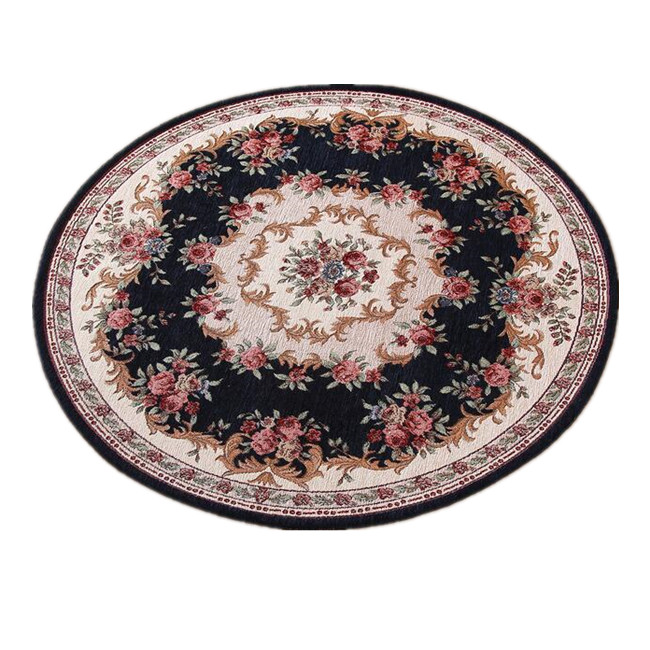 Sunnyrain classic round area rugs and carpets for living for Round area rugs for living room
