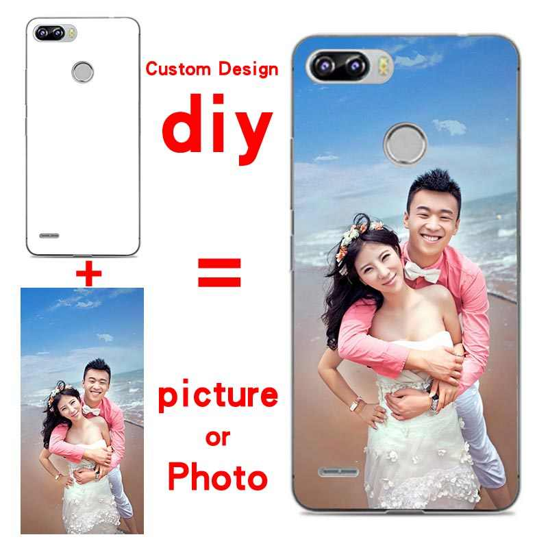 Soft Silicone cases Custom Design picture phone Case For Itel P32 Photo  flower DIY Personalized Cover For Itel P32 Coque