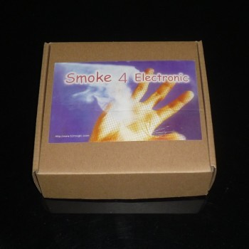 The Mist Ultra Smoke 4 Electronic (Device + 10 Smoke Cartridges), necessary props fire magic tricks, magic trick accessories