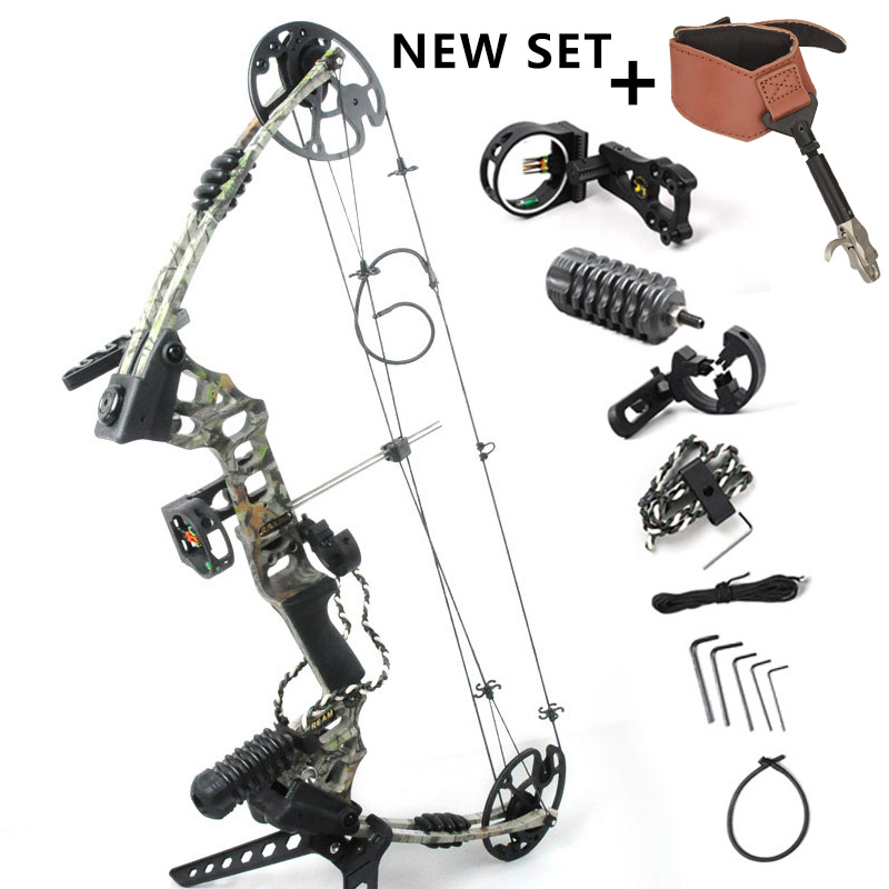 Camo Dream Aluminum Alloy Compound font b Bow b font With 20 70 lbs Draw Weight