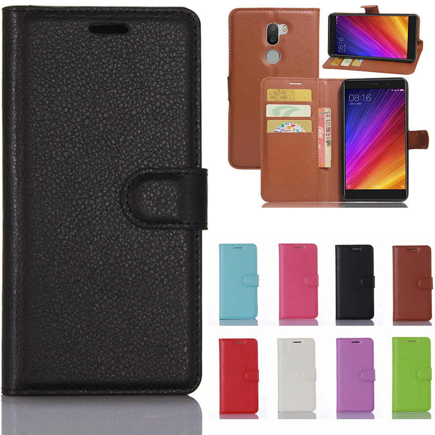 Wallet Flip Case For Redmi 4X 5 Plus 3S 4A Note 4 5A 4X Cover Fitted Case For Xiaomi 5X A1 5C 5S Plus Mix MAX 2 Note 3 4S fundas