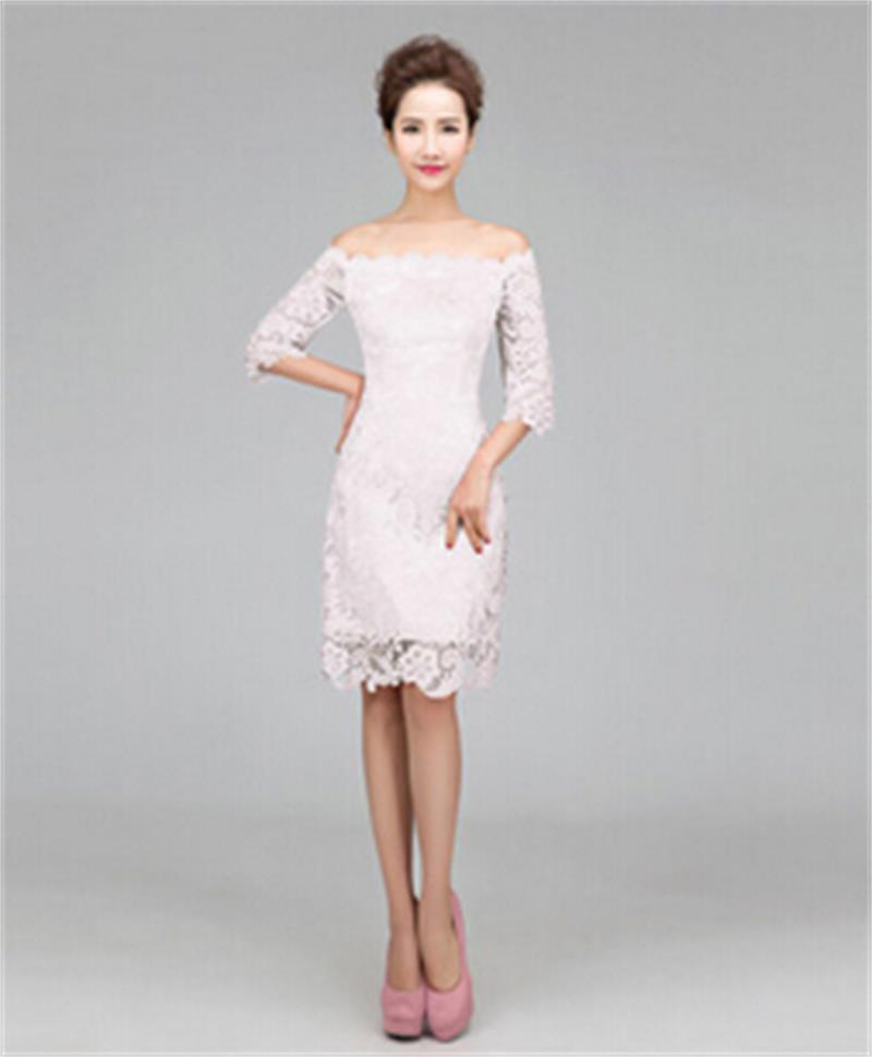 0edd619f55ed Vestido blanco corto para la noche – Vestidos de fiesta