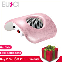 Nail Dust Vacuum Manicure Nail Art Salon Collector Cleaner Suction With Exhaust Fan Acrylic UV Gel Tip Machine Tools