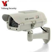 Solar Power LED Wireless IR Surveillance Dummy Fake CCTV Security Camera LED Flashing Indoor Outdoor