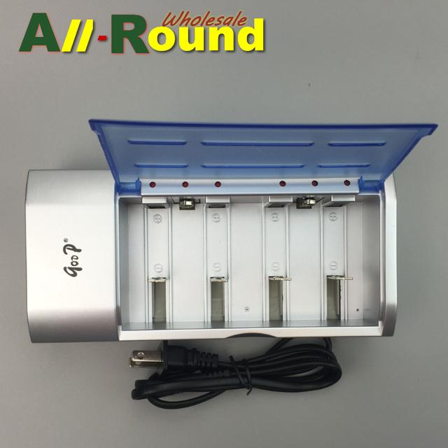 2016 Super Multi Del Cargador de batería de LA UE/EE. UU. para 9 v Ni-MH/Ni-cd, D, C, SC, A, AA, AAA