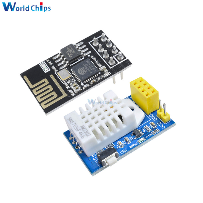 DHT22 AM2302 DHT11 AM2320 Digital Temperature Humidity Sensor Wireles Wifi Module ESP8266 ESP-01 ESP-01S ESP01 S For Arduino