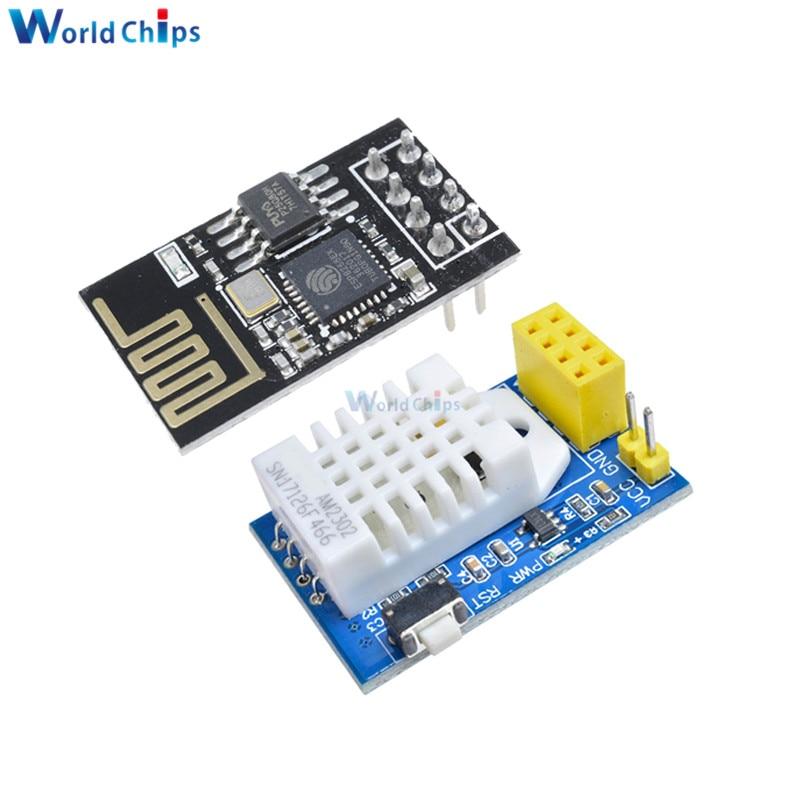 DHT22 AM2302 DHT11 AM2320 Digital Temperature Humidity Sensor Wireles Wifi Module ESP8266 ESP-01 ESP-01S ESP01 S For Arduino