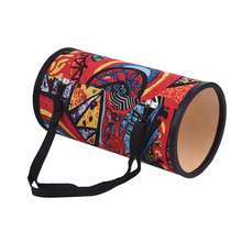 9aff8ed7e7b 8 Inch Conga Konga Drum Hand Drum Floor Drum with Shoulder Strap Instrument  for Gathering Street