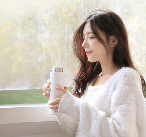 Image 3 - xiaomi mijia Thermos bottle 500ML cup Thermal Vacuum mug 12 hours keep warm cold water birthday gift for boy girl friend woman