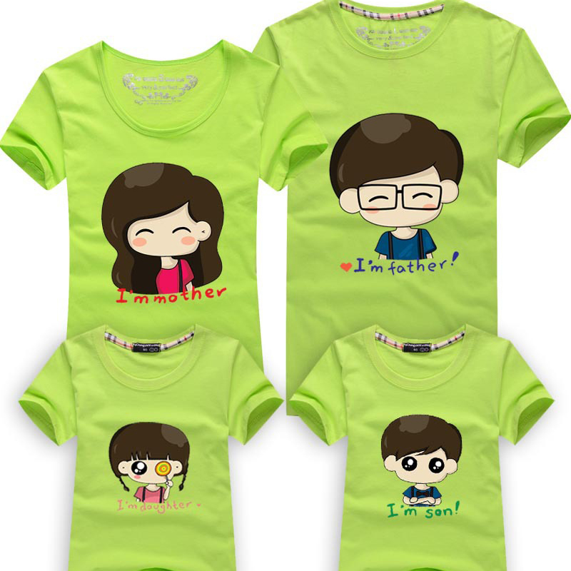 children t shirts family matching outfits family matching. Black Bedroom Furniture Sets. Home Design Ideas