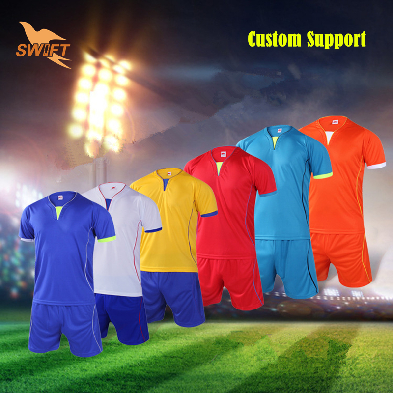Buy new customize adult breathable soccer for Cheap football shirts sports direct
