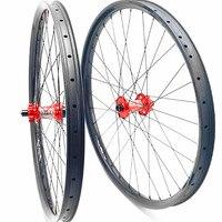 27.5er mtb fahrrad räder koozer XM490 35x25mm Asymmetrie 27.5er mtb disc räder Bikes rad 100 x15 142x12 thur achse mtb räder