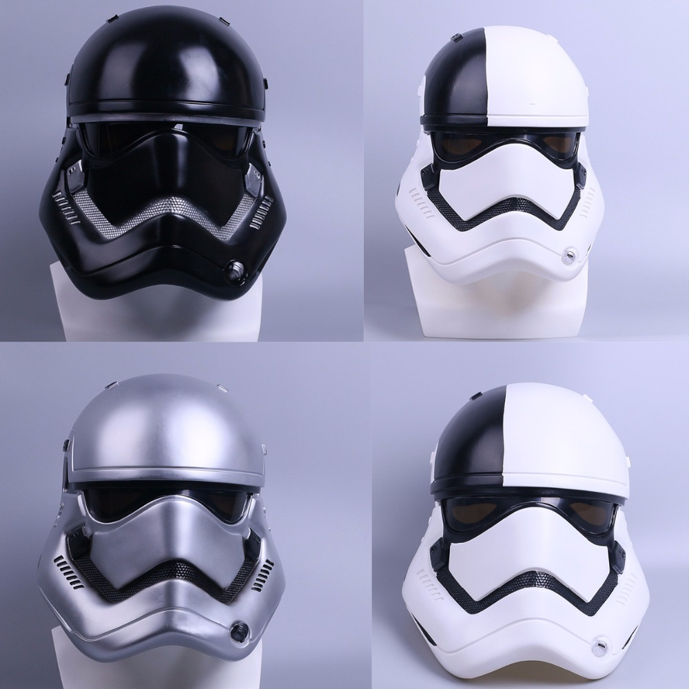Helmet Stormtrooper Helmet DIY Mask Star Wars Helmet PVC Black Stormtrooper Adult Halloween Party Masks