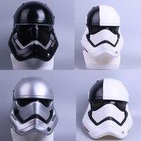 Helmet Stormtrooper Helmet DIY Mask Star Wars Helmet PVC Black Stormtrooper Adult Halloween Party Masks