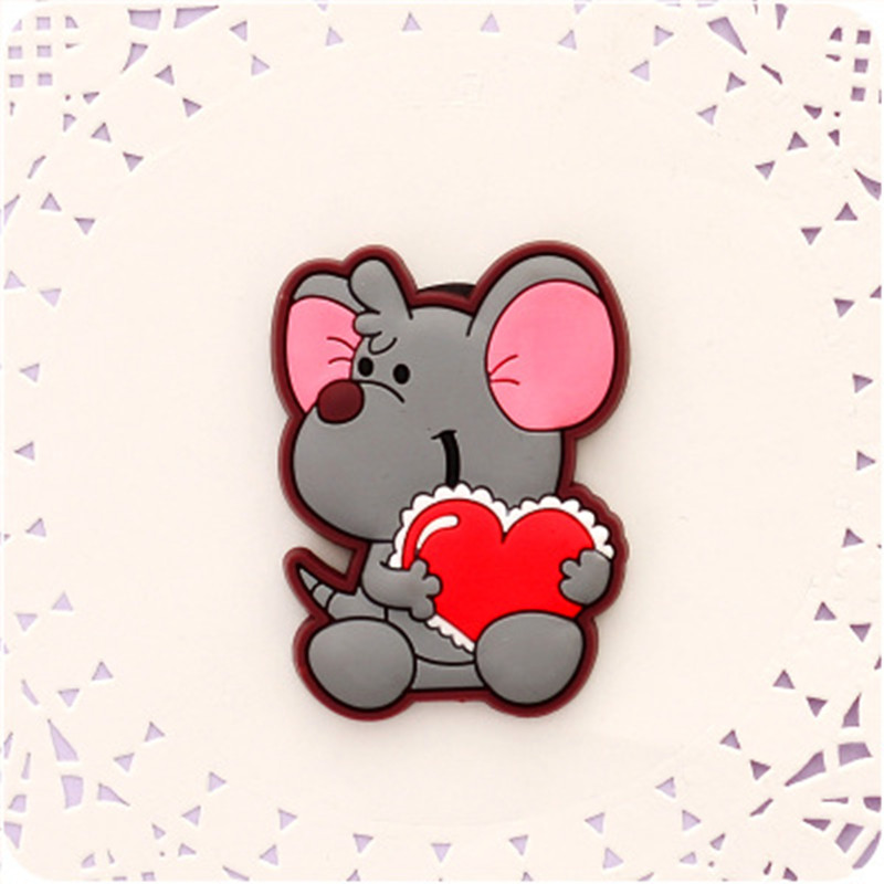 Cute Mouse Fridge Magnets For Kids Decorative Refrigerator Magnets Cheap Small Magnetic Sticker On The Fridge