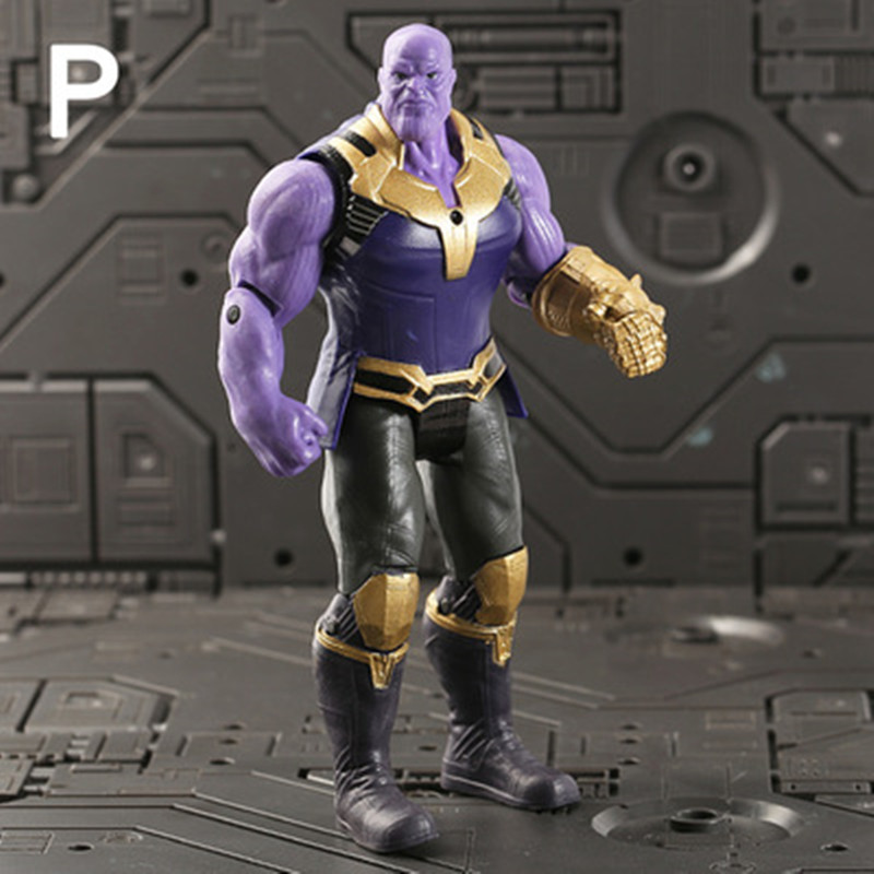 Thanos Toys Collectible-Model Action-Figures Avengers Marvel Infinity-War PVC for Children