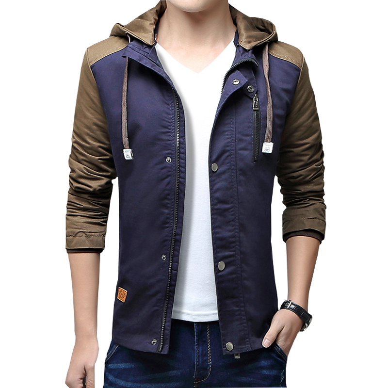Top Fashion 2016 New Brand Jacket Men Hooded College