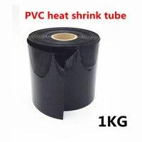 1 кг ПВХ термоусадочная трубка для 18650 литиевых батарей защита теплоизоляция термоусадочный кабель рукав