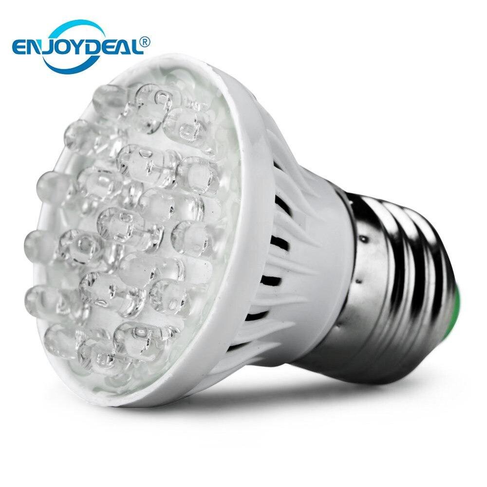 Enjoydeal 1PC 20LED Plant Grow Light Lamp Energy Saving Grow Light UV Light Bulb Indoor Hydroponic Vegetable LED Lights E27 220V