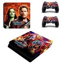 Guardians of The Galaxy PS4 Slim Skin Sticker