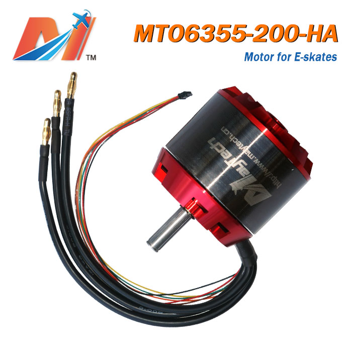 Maytech 6355 200kv dc electric motor kits hoverboard for electric skateboard 3000win Propulsion