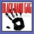 black hand gag towel  - magic tricks, comedy magic, stage magic,magic accessories mentalism