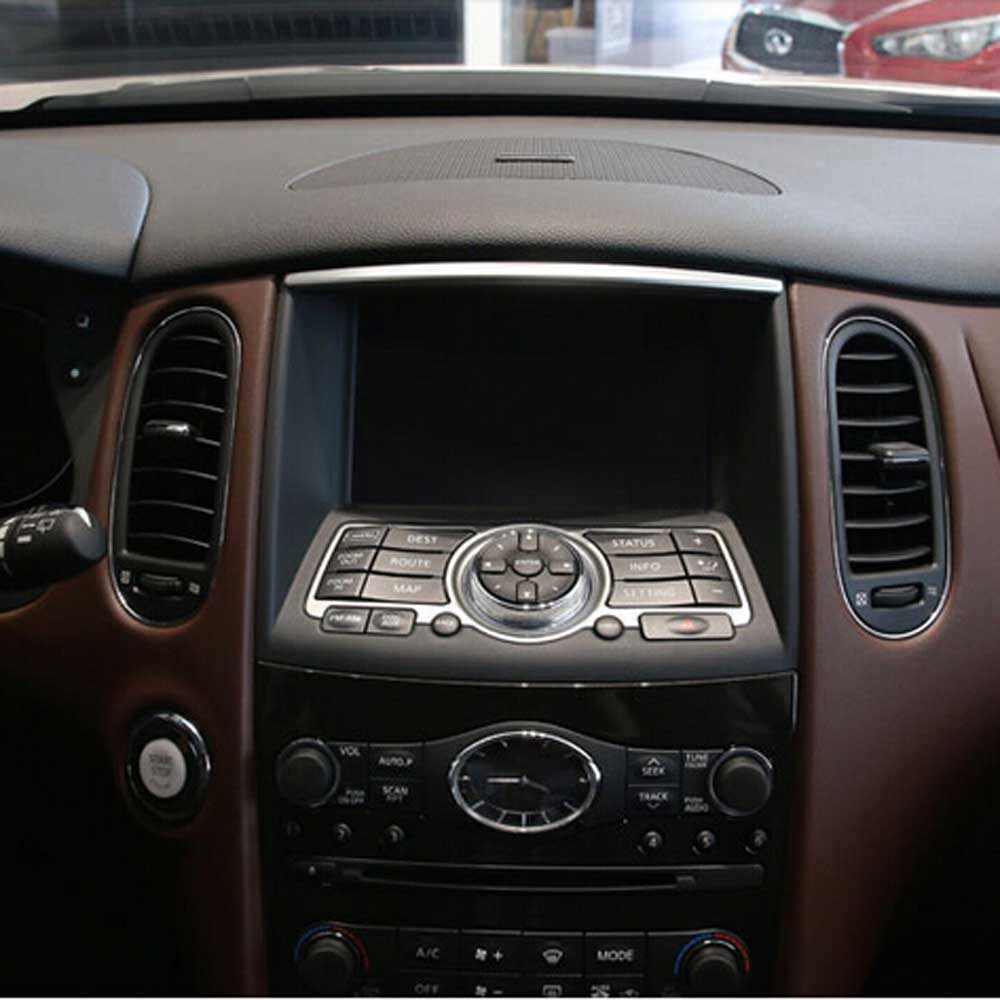 Interior Accessories For Infiniti Q50 Qx60 Qx70 Qx80 Ex Central Control Panel Dashboard Cd Dvd Gps