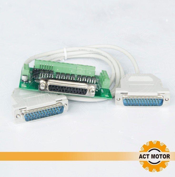 Act Moteur GmbH 1/BREAK Out Board CNC Moteur pas pilote 6/axes Interface C/âble
