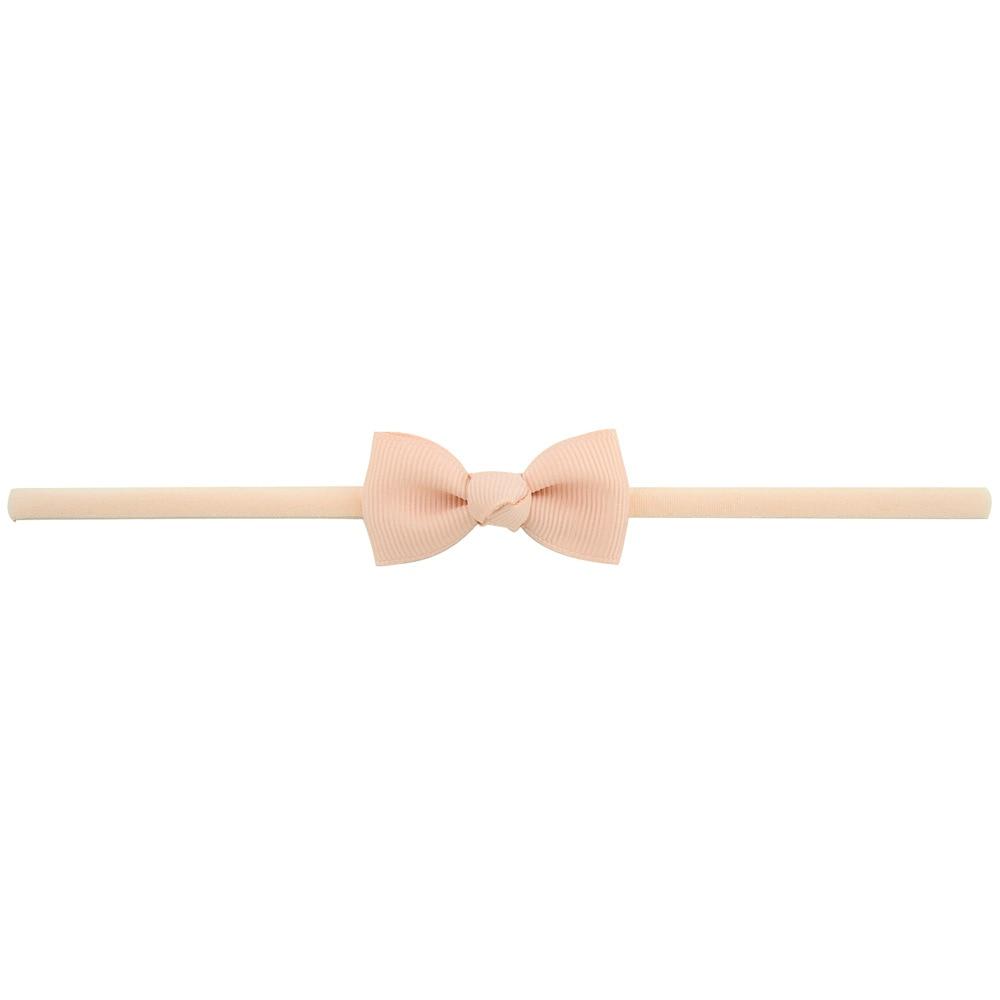 Повязка на голову для маленьких девочек; аксессуары для волос для младенцев; тканевый галстук с бантом; головной убор; Тиара; подарок для малышей; повязка на голову с лентой для новорожденных - Цвет: 8