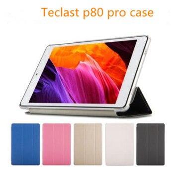 """Funda Ultra delgada para Tablet PC 2018 tecast P80 pro de 8 """", funda de moda, funda protectora de tableta y PC Teclast P80 Pro con 3 regalos"""