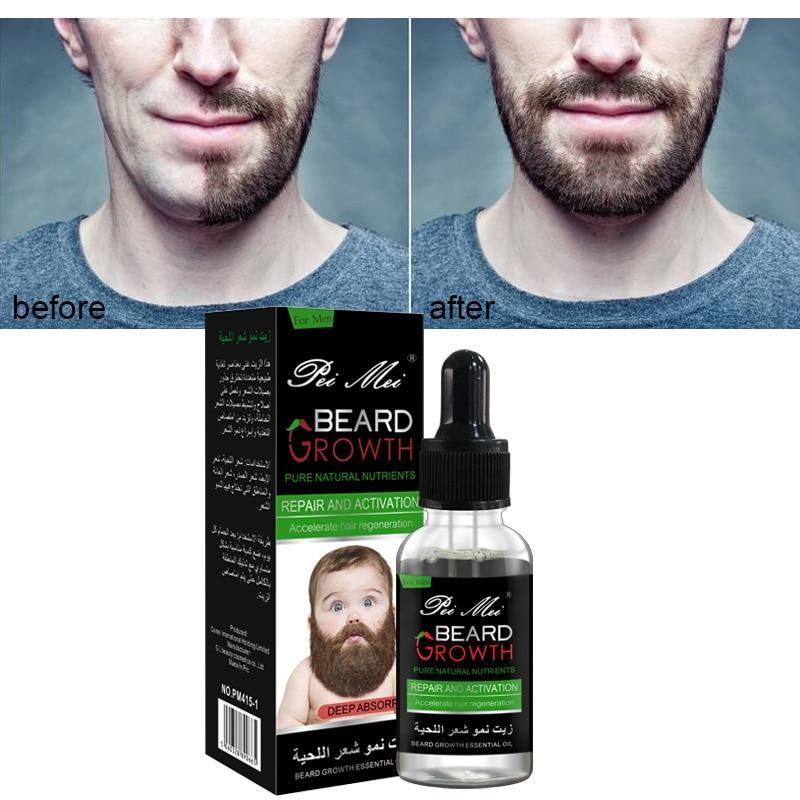 Professional Beard Growth Enhancer Beard Essential Oil for Men Hair Barbe Facial Nutrition Moustache Grow Men Strength Beard Kit 1
