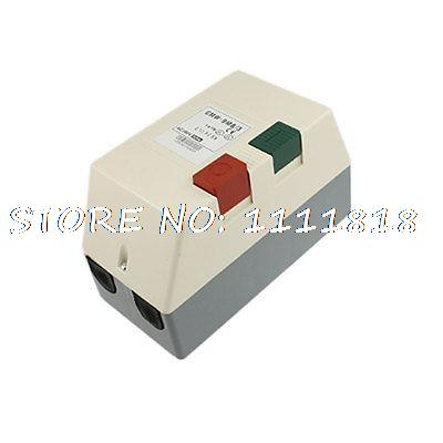 AC 380V 7-10A Three Phase 5 HP Motor Start Stop Control Magnetic Starter 380v coil ac contactor motor magnetic starter three 3 phase 3p 13 5 hp 14 22a