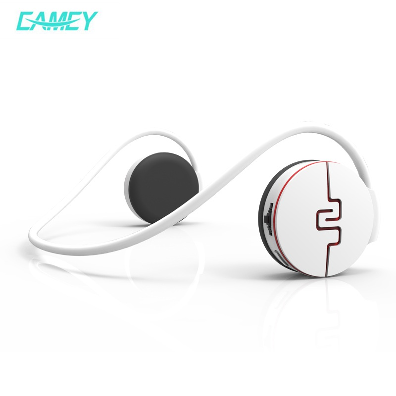 EAMEY Sports Bluetooth Wireless Headphone Stereo Smart Fitness tracking SDCard FM Radio Earphone Headphones For Mobile Phone