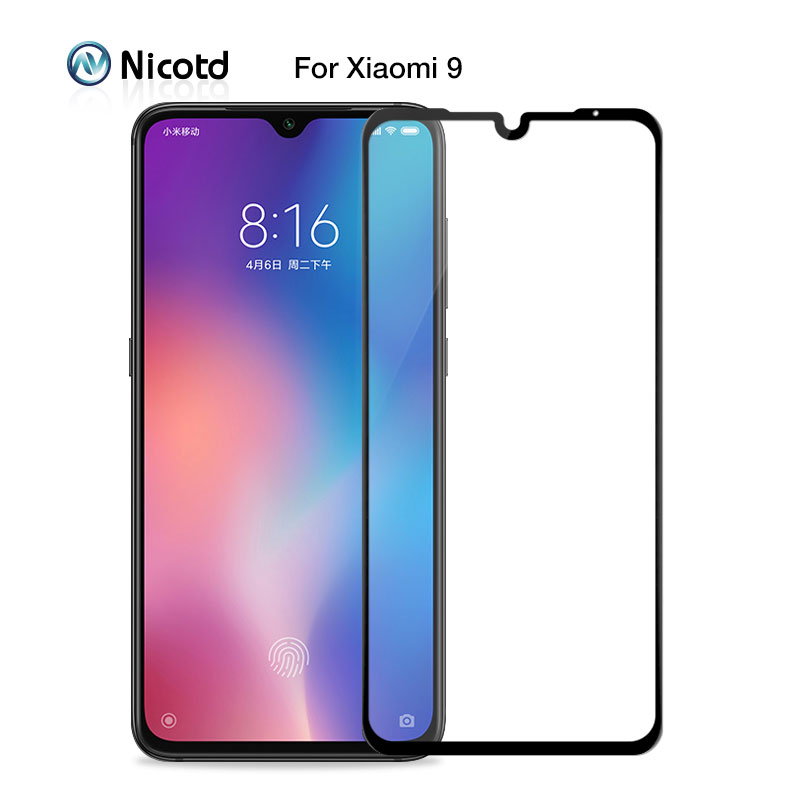 Tempered Glass For Xiaomi Mi 9 Mi8 SE 8lite 9H Screen Protector For Xiomi A3 A2 Lite REDMI Note 7 8 Full Glass Film Pocophone F1