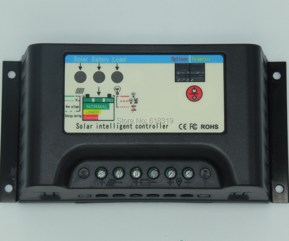 Current 25 A 24V 48V High-Power Solar Power Charge Controller by FedexCurrent 25 A 24V 48V High-Power Solar Power Charge Controller by Fedex