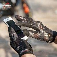 Luvas Luva moto per Komine guanti GK-194 da motociclo Proteggere Mesh 3D gants moto Traspirante Touch screen 3D guanti Cavaliere