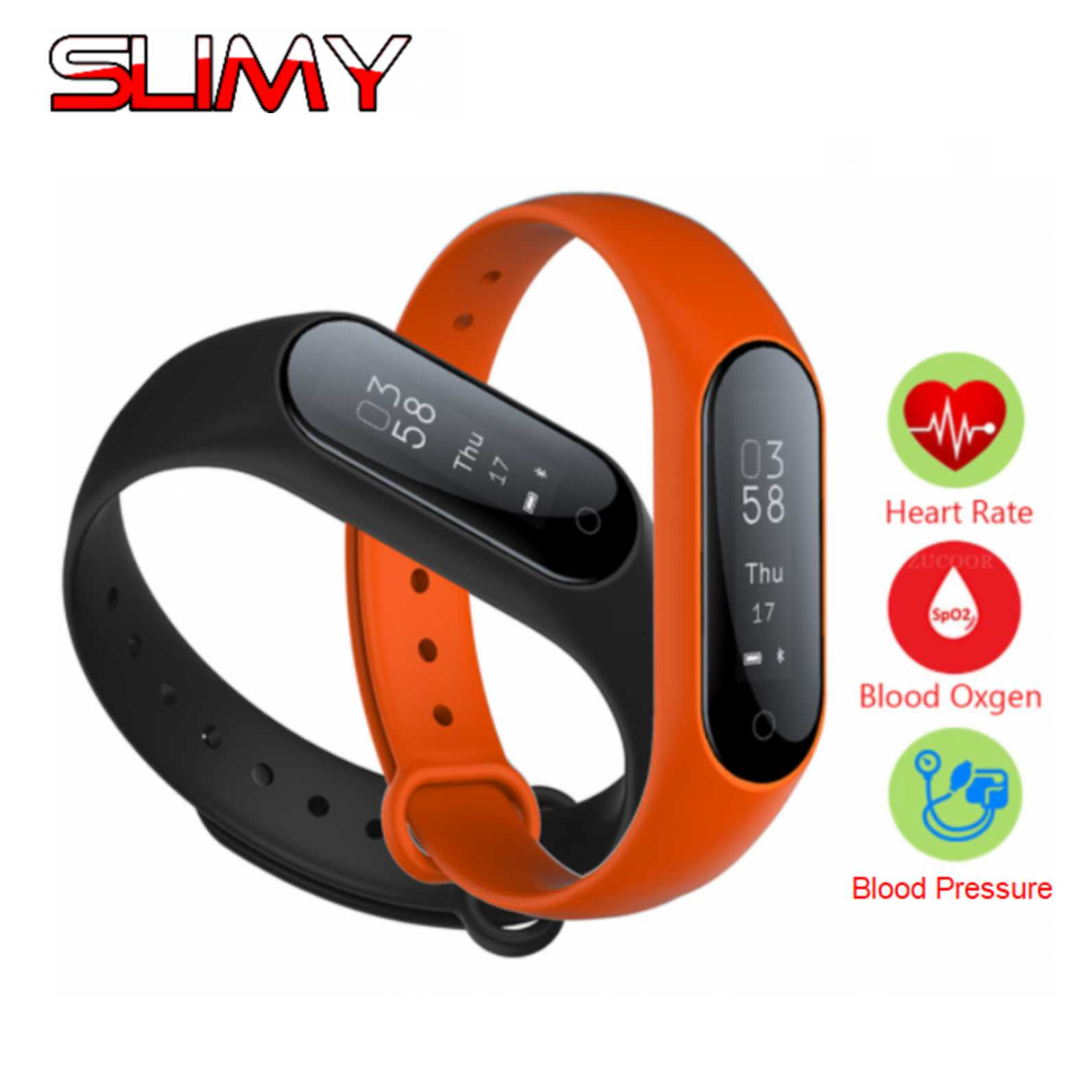 Slimy Smart Watch Heart Rate Monitor Blood Pressure Fitness Bracelet Pedometer Smartwatch Y2 Plus Pulsometer PK Miband 2