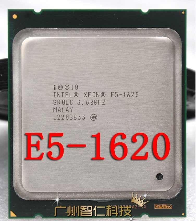 Intel Xeon E5 1620 Server Prosesor Quad Core 3.6G Hz 130W LGA 2011 10M Cache SR0LC CPU