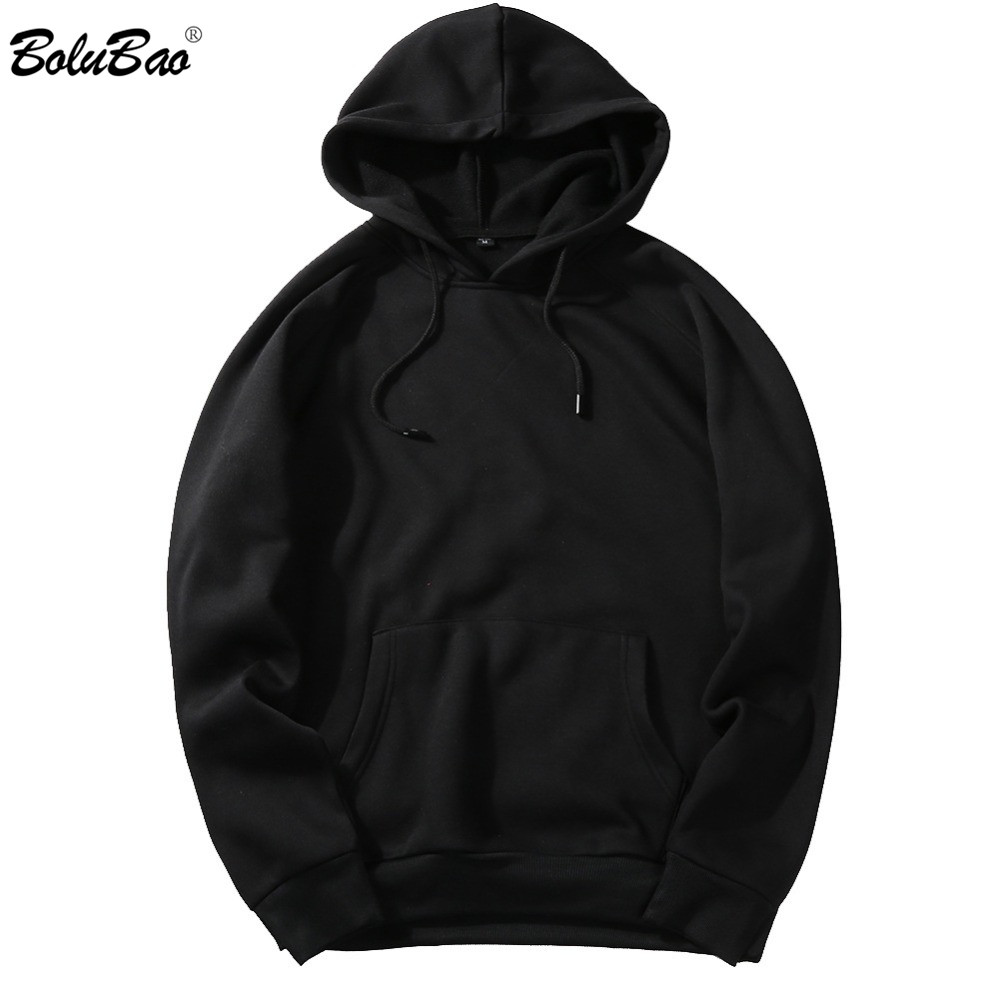 BOLUBAO New Autumn Fashion Hoodies Male Large Size Warm Men Long Sleeve Hoodies Sweatshirts EU Size
