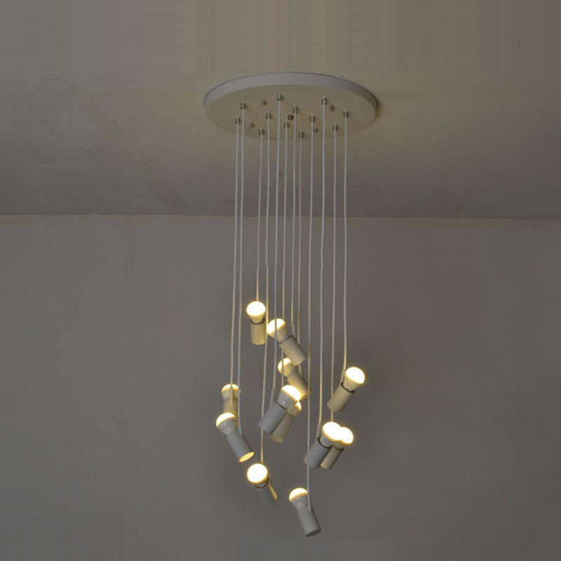 LED Pendant Lighting Light Modern Lamp AC 110V To 240V 12 Bulbs Minimalist Ceiling Lamps For Hotel Bar Cafer  Home  zg9048 pendant light ac 110 240v