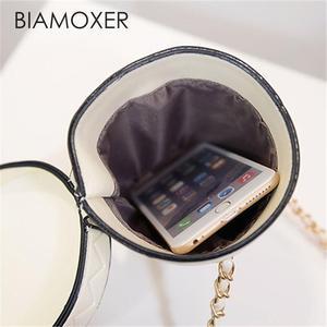 Image 5 - Biamoxer Women Cup Mini Small Crossbody Shoulder Chain Bucket Bag Tote Handbag Purse For Lolita Cosplay