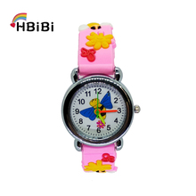 New listing Bee collecting honey Pattern Kids Watches Quartz Analog Children Watch For Child Boys Girls Students Clock Baby Gift