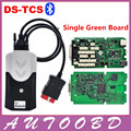 Auto OBD/OBD2 TCS CDP PRO Bluetooth Complete Kits Green Single board nec relay with Led on obdii for cars trucks -DHL shipping