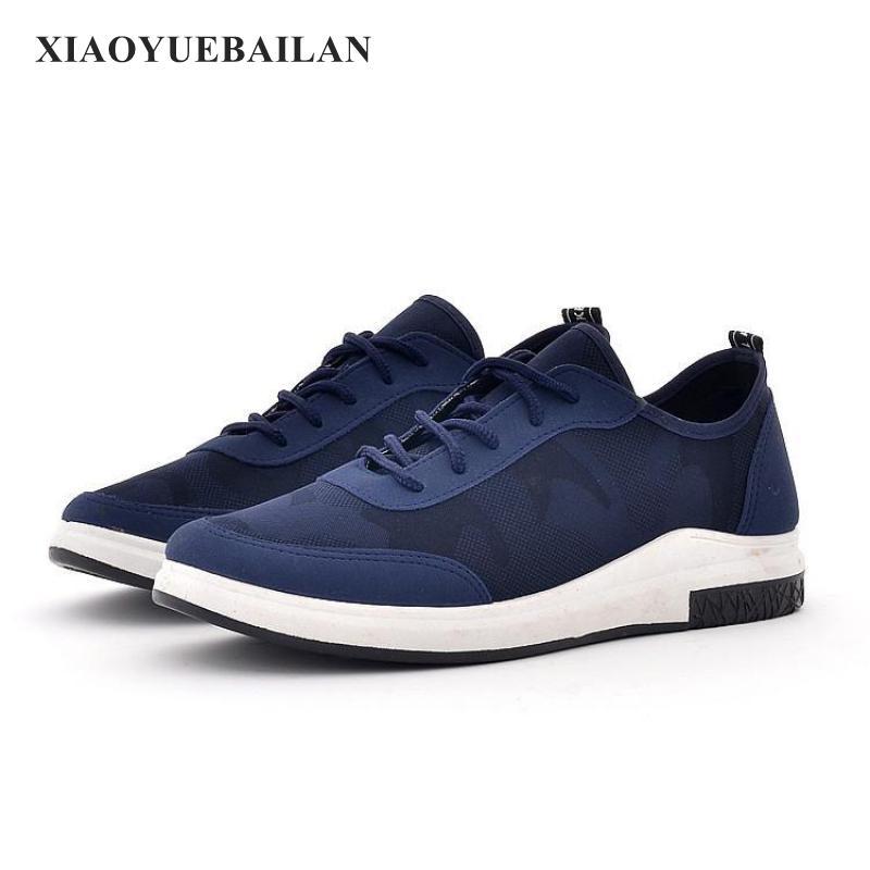 Toile Usure Faible bleu De Camouflage Chaussures 2017 gris Noir Respirant Hommes Xiaoyuebailan Occasionnels Chaussures Nouveau BFtvwq