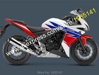 Hot Sales,For Honda CBR500R 2013 2014 CBR 500R 13 14 CBR 500 R Red Blue White Aftermarket Motorcycle Fairing (Injection molding)